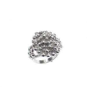 zilveren ring apart