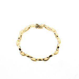 8 karaat gouden armband